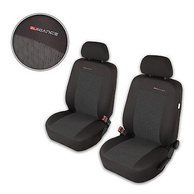 Schwarze Sitzbezug für MERCEDES C-KLASSE Fahrer Sitzbezug
