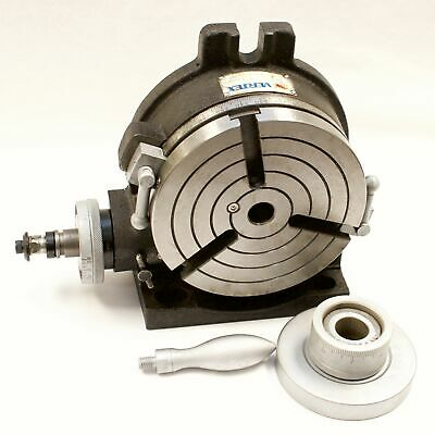 Vertex Hv-6 6 Horizontal Vertical Rotary Table With Face Plate
