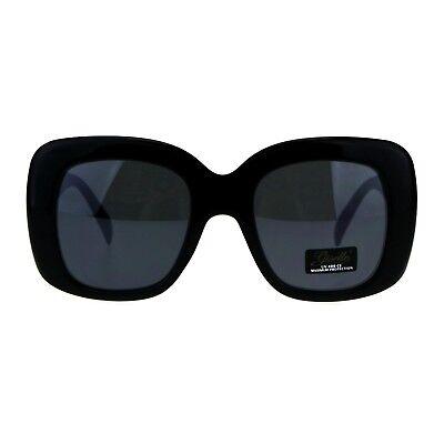 Giselle Womens Sunglasses Oversized Thick Square Fashion UV (Gisele Sunglasses)