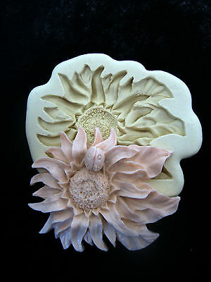 MAKING Flower, Silicone Mold Chocolate Polymer Clay Jewelry Soap Wax Resin