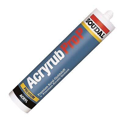 Soudal Acryrub Pro P Acryl weiß Dichtstoff 310ml Kartusche