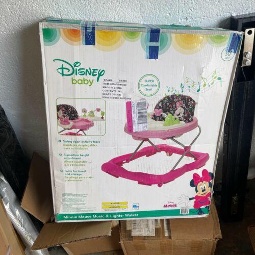 Disney WA056CZQ Super Comfortable Seat Baby Minnie Mouse Music & Lights Walker