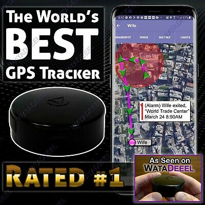 The World's Best GPS Tracker - Waterproof Vehicle or Person Tracking Device Spy