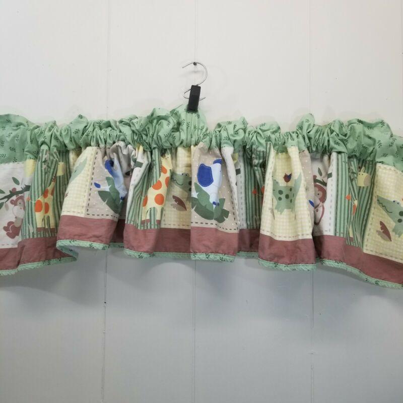 Circo Jungle Valance Baby Nursery Decor Window Treatment Curtain