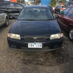 1998 Mazda 323 PROTEGE SHADES Manual Sedan reg&rwc $1799 driveaway Hoppers Crossing Wyndham Area Preview