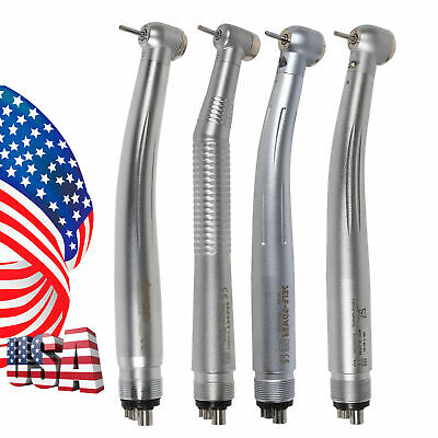 Dental High Speed Led E-generator Handpiece Push Tip 4hole Fit Kavo Nsk Pl