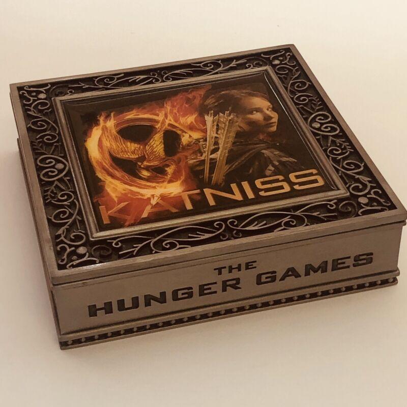 NECA The Hunger Games KATNISS Metal Jewelry Trinket Box 2012