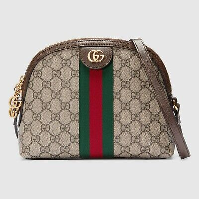 Gucci Ophidia GG Supreme small shoulder bag RRP £885. Brand New