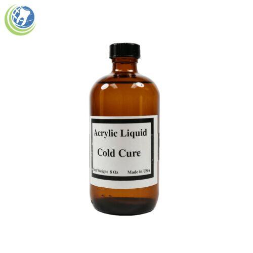 Dentist Dental Laboratory Fast Tooth Cold Self Cure Acrylic Liquid Monomer 8 oz
