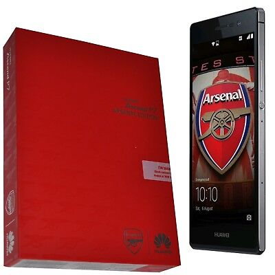 BNIB Huawei Ascend P7 UK Arsenal Printing Factory Unlocked LTE 4G 3G 2G GSM