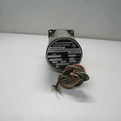 Superior Electric Slo-syn Synchroneous Stepping Motor Type M093-fd07r
