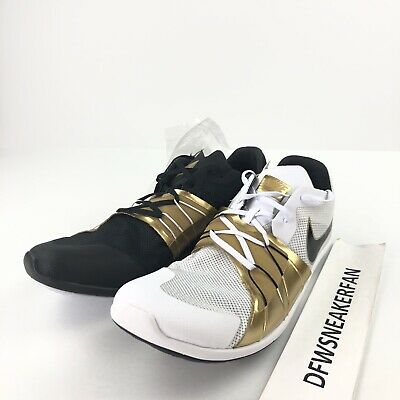 f935181c31df7 Nike Zoom Forever XC 5 Cross-Country Spikes Gold Medal 904723-071 Men s 8.5  New
