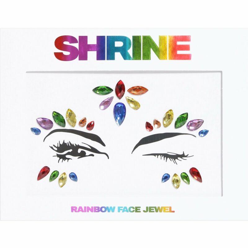 Shrine+-+Individual+Self+Adhesive+Face+Jewel+-+Rainbow