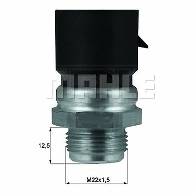Radiator Fan Temperature Switch - MAHLE TSW 37D - Quality MAHLE - UK Stock