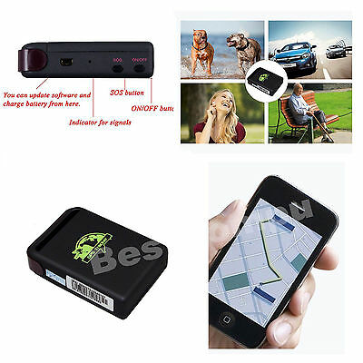 TK102 Mini Track Spy Vehicle Real Time Tracker GPS/GSM/GPRS Car Vehicle Tracker