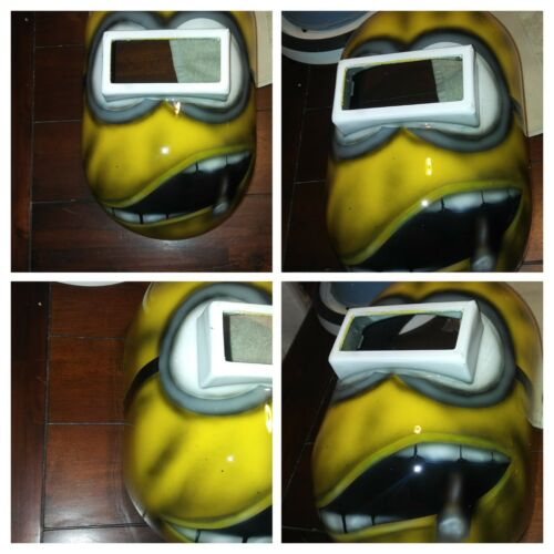 THE BOSS Minions Welding Helmet Pipeliner helmet