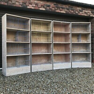 Pigeon Nest Boxes (Racing Widowhood Breeding Nesting Box Wooden Timber Used)