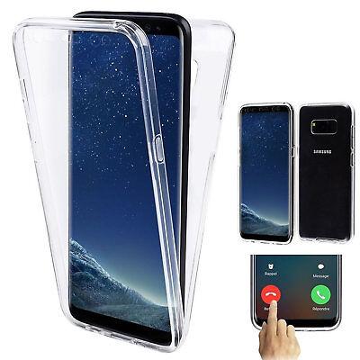 360 Grad Rundumschutz Silikon Hülle Handy Schutz Tasche Case Handyhülle Kappe