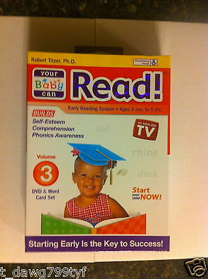 Used, NEW Your Baby Can Read Step 3 for sale  Shipping to India