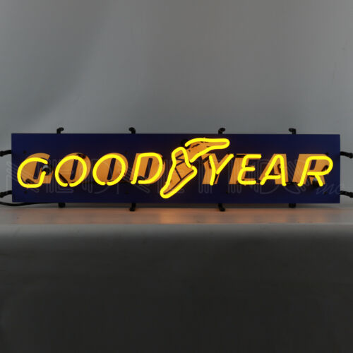 Goodyear Neon Sign Licensed Tires Dad