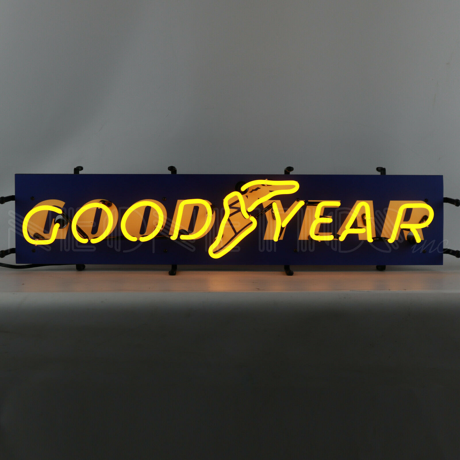 Goodyear Neon Sign Licensed Tires Dad's Garage wall lamp