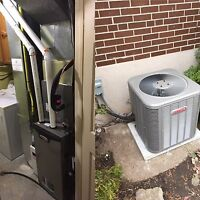 Professional  HVAC installs (furnace/ac + more)