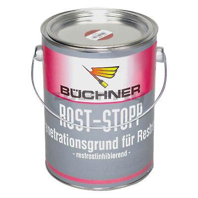 Büchner Erbedol Rost-Stop Grundierung Rostschutz rotbraun 2500 ml 13,18€/L