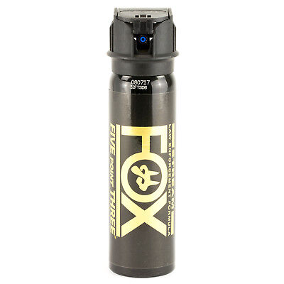 (PS Fox Labs 5.3 Tactical Police Pepper Spray Stream Flip-Top 3oz - 32FTSDB)