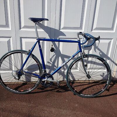 Blue Simoncini Racing Bike Shimano, Campagnolo. Vintage Classic.