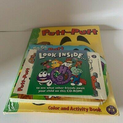 Go, Go Putt-Putt Go Broad Book Putt Putt Coloring Book Set The Great Pet Chase,  (Go Go Pets Set)