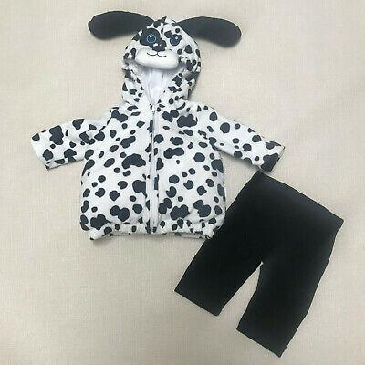Baby Boy Newborn 3 6 Months Little Dalmatian Halloween Costume Black White