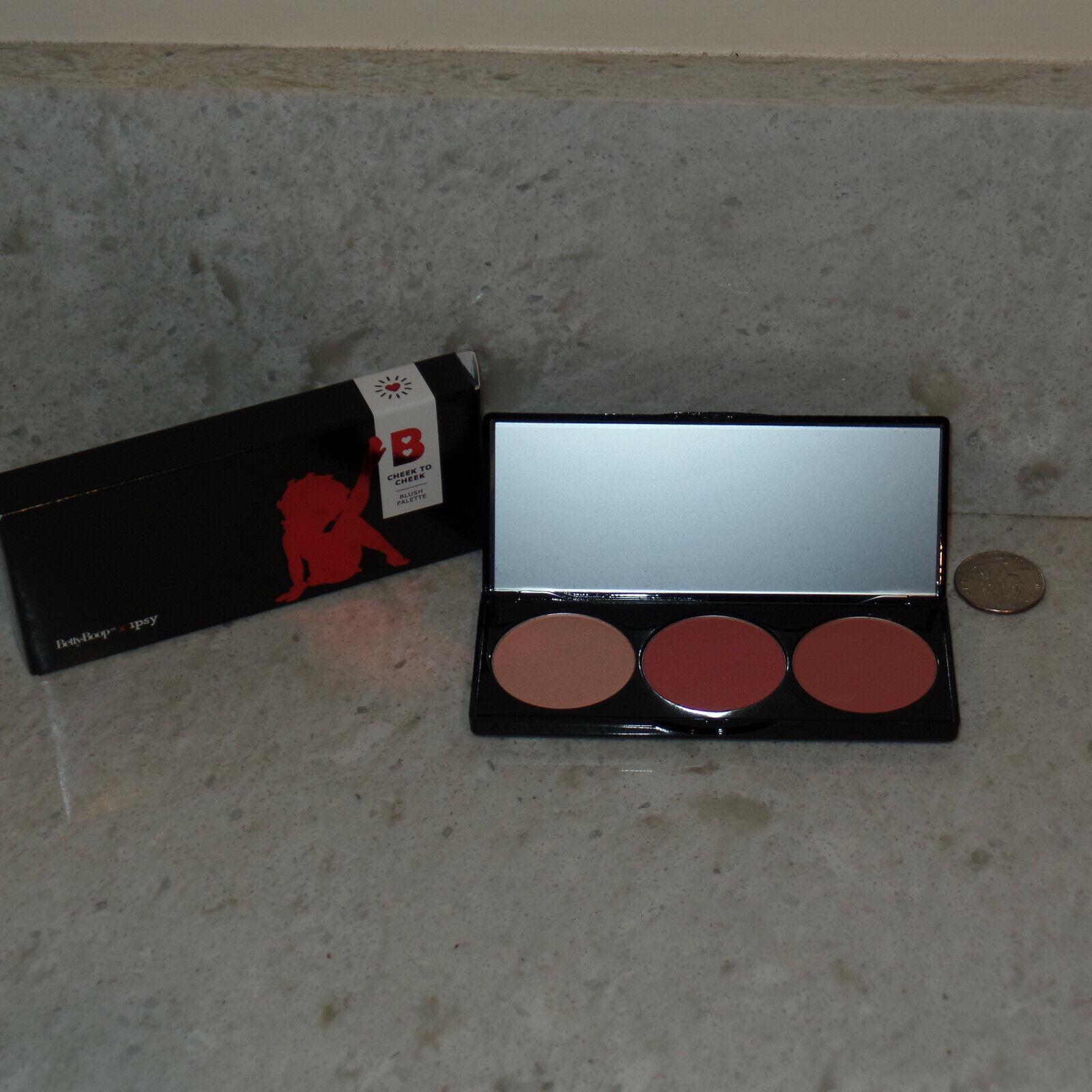 FULL SIZE Betty Boop X Ipsy Cheek To Cheek Blush Palette 29oz 8.4g - $9.88