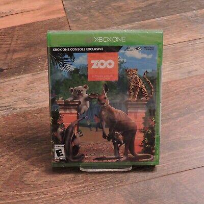 Zoo Tycoon: Ultimate Animal Collection New Factory Sealed Microsoft XBOX ONE XB1 comprar usado  Enviando para Brazil