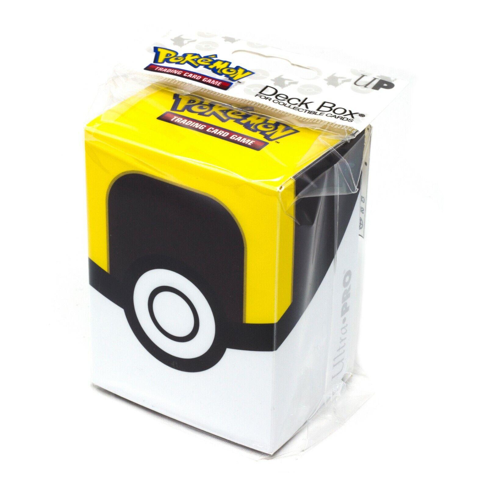 Ultra Pro Pokemon TCG Ultra Ball Deck Box Card Storage/Holde