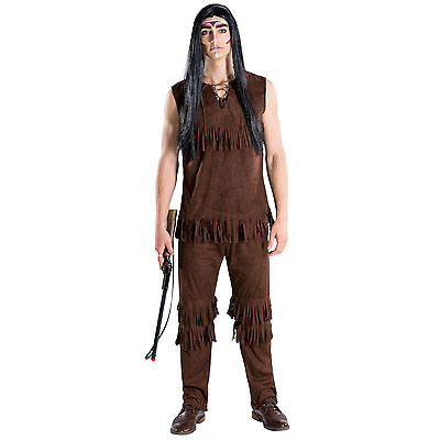 Männerkostüm Häuptling Indianer Apache Western Wilder Westen Fasching Karneval