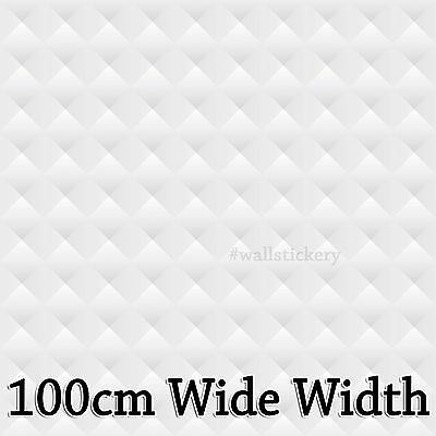 Contact White Paper Countertop Cabinet Shelf Kitchen 100cm Wide Glossy Wallpaper