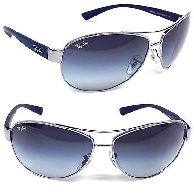 Ray-Ban Aviator Silver RB 3386 107/8G 63mm on Rummage