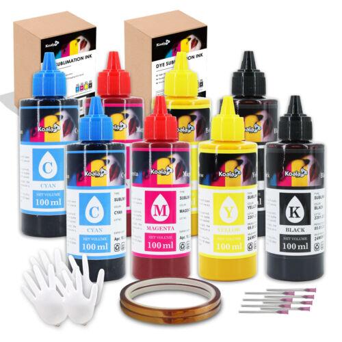 2X400ML Koala Refill Sublimation Ink for ALL Epson Printers ET-2760 ET-2720 7720