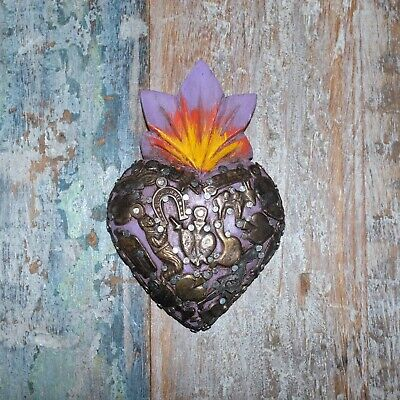 Mexican Milagro Heart Decoration Mini K