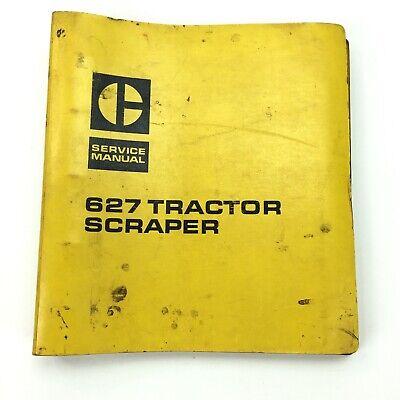 Caterpillar 627 Scraper Bulldozer Service Manual Diesel Engine Repair Book