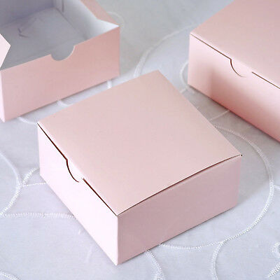 Blush 100 pcs Cake FAVOR BOXES 4