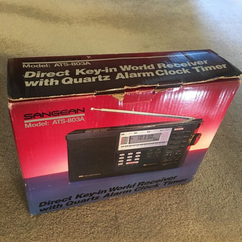 Sangean ATS-803A World Band Direct Entry LW/AM/FM/SW Receiver