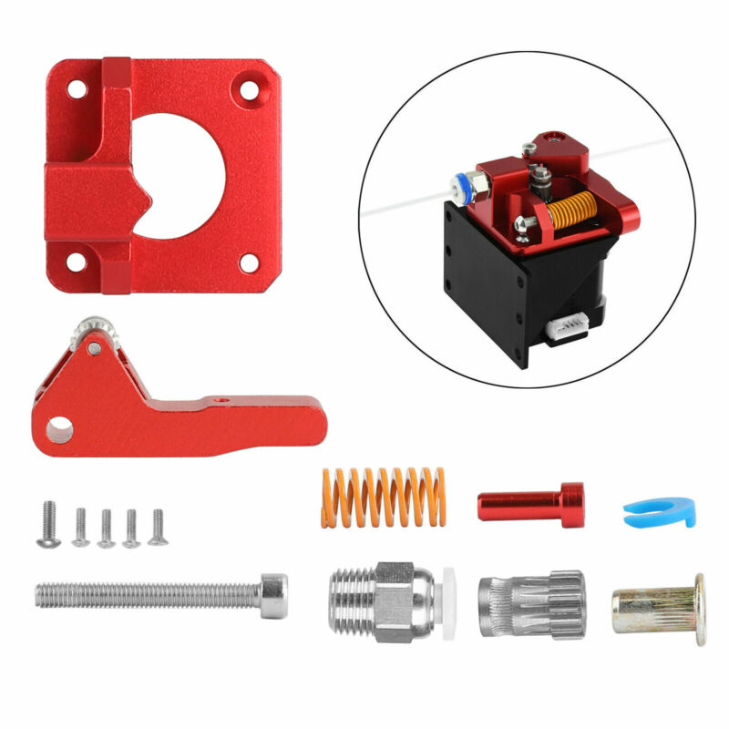 Dual Gear Drive Extruder MK8 for Creality 3D Printer CR-10S Pro Ender 3/3 Pro/5