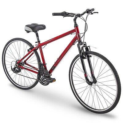 Royce Union Hybrid Comfort Bikes Mens RMY 700c Aluminum Red NEW