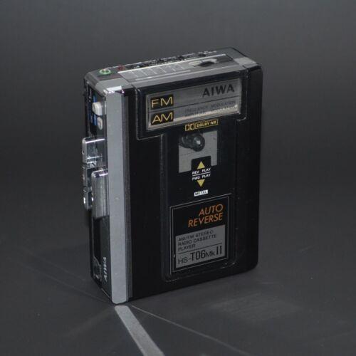 Aiwa HS-T06 Mk2 Walkman Portable Cassette Player AM/FM Stereo Radio