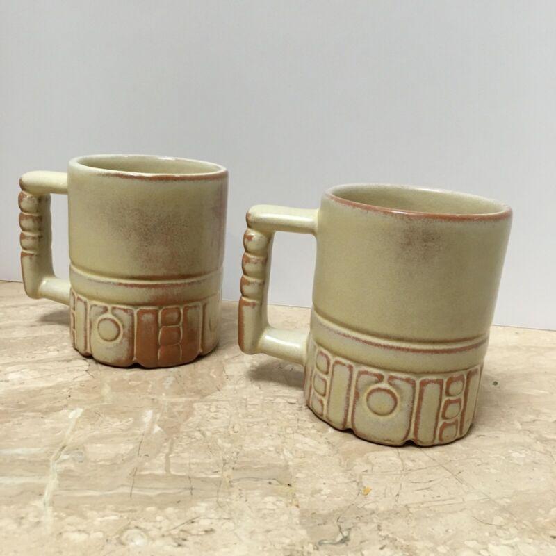 Frankoma plainsman mug desert gold