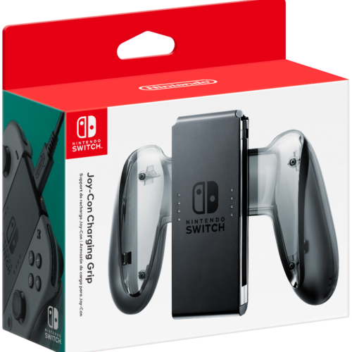 Joy-Con Charging Grip (Nintendo Switch, 2017)