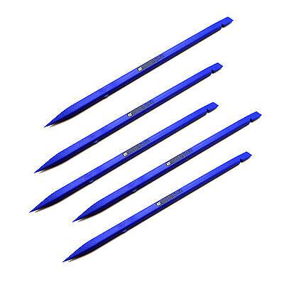 5 x Nylon Plastic Spudger Blue Stick Opening Repair Tool Apple iPad iPhone iPod