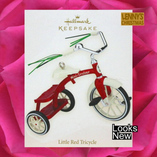 Hallmark Ornament, 2008 Little Red Tricycle, Looks New