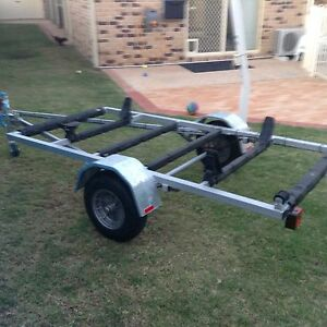 KAYAK TRAILER - FLAT BED TRAILER - MULTI PURPOSE TRAILER Brighton Brisbane North East Preview